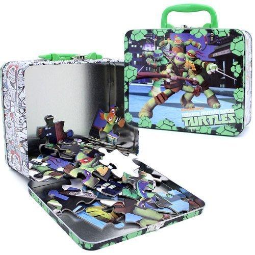 Teenage Mutant Ninja Turtles Puzzle Tin / Lunch Tin front-717830
