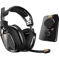Astro Gaming A40 TR + MIXAMP Pro TR アストロゲーミング 有線サラウンドサウンド ゲーミング・ヘッドセット PC/PS4/PS3対応 [並行輸入品]