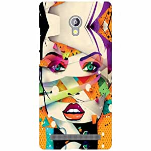 Asus Zenfone 6 A601CG Back Cover - Nice Designer Cases