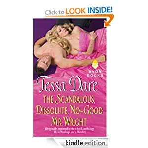 the scandalous dissolute no good mr wright cover