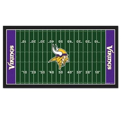 Minnesota Vikings Throw Rug Welcome Mat