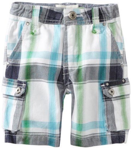 Diesel Baby-Boys Infant Paoyb Cargo Shorts, Blue Plaid, 12 Months  Best Offer