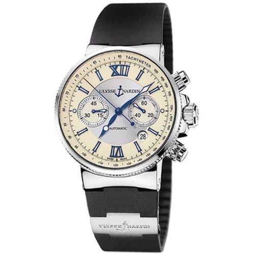 Ulysse Nardin Men's 353-66-3/314 Maxi Marine Chronograph Watch