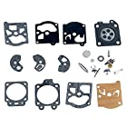 Savior Carb Repair Kit Gasket Diaphragm for Walbro K10-WAT WA WT Carburetor Stihl 028AV 031AV 032 032AV Chainsaw