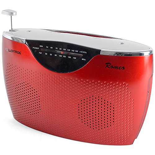 lloytron-romeo-2-band-ac-dc-portable-radio-red