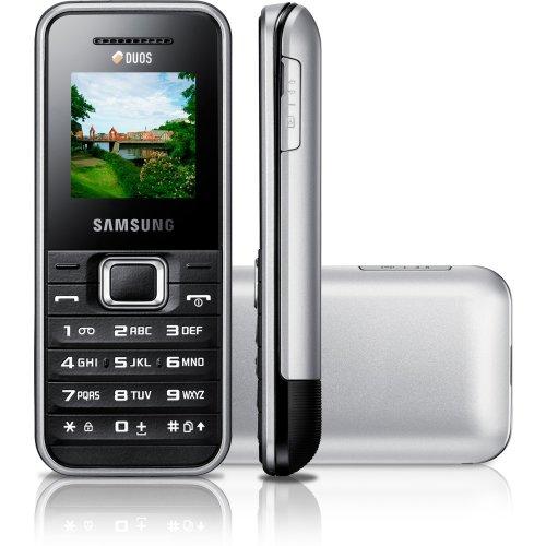 Samsung E1182 DuoS ohne Vertrag silber