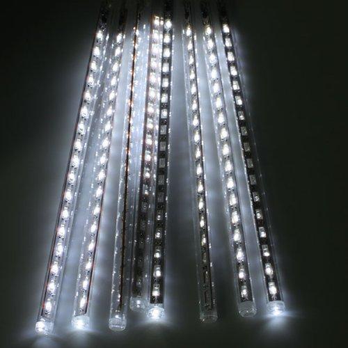 Agptek® 30Cm Meteor Shower Rain Tube Snowfall Led Light For Christmas Tree Garden Decoration - Cool White