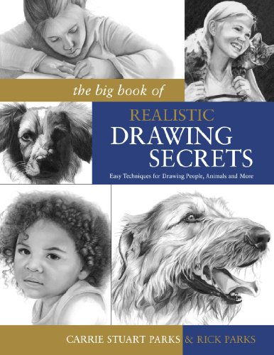 The Big Book of Realistic Drawing Secrets: Easy Techniques for drawing people, animals, flowers and nature (The Big Book Of Drawing compare prices)