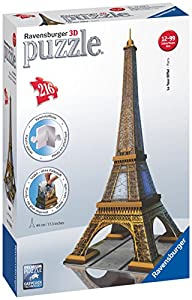 Ravensburger Eiffel Tower 216 Piece 3…