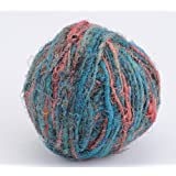 New Threadsrus HIMALAYAN 100% PURE SILK YARN For KNITTING - SKY BLUE 