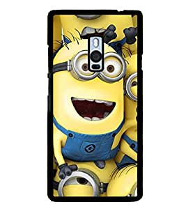 Funny Characters 2D Hard Polycarbonate Designer Back Case Cover for OnePlus 2 :: OnePlus Two :: One +2