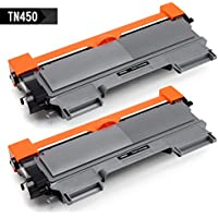 2-Pack IKONG Brother-Compatible TN450/TN420 Black Toner Cartridge