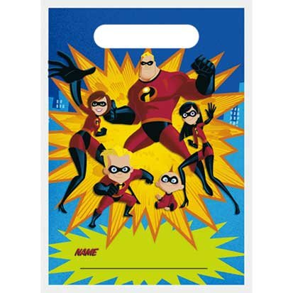 The Incredibles Treat Sacks 8ct