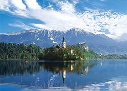 759スモールピース 湖に浮かぶ聖マリア教会-スロベニア 57-507