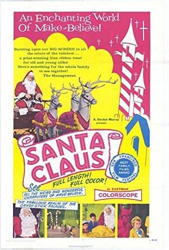 Santa Claus Poster Movie 11x17
