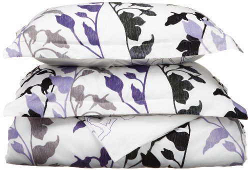 Why Choose Divatex Grace Microfiber Duvet Full/Queen Mini Set, Purple