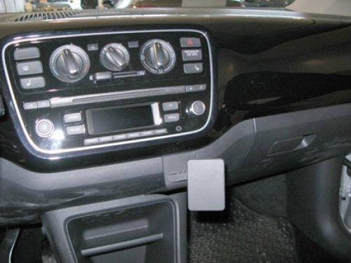 Brodit 854737 ProClip Kfz-Halterung für Volkswagen UP 12 (Angled Mount) schwarz