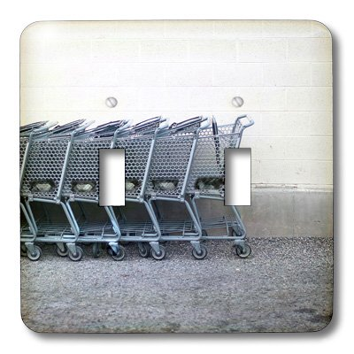 Double Shopping Cart Cover
