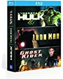 Marvel super heros : Iron man, Ghost rider, l'Incroyable hulk [Blu-ray]