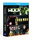 Image de Marvel super heros : Iron man, Ghost rider, l'Incroyable hulk [Blu-ray]
