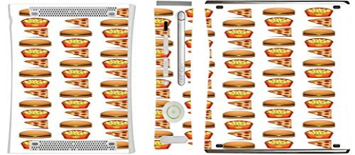 pizza-burger-and-fries-design-yum-xbox-360-vinyl-decal-sticker-skin-by-debbies-designs-by-debbies-de