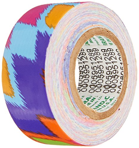 ShurTech-MDT-2666-Mini-Duck-Tape-075-by-15-Feet-Ikat-Fever