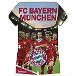 FC Bayern München Trikotkalender 2016 - teNeues Fußballkalender 2016 / FCB Kalender - 34 x 42 cm