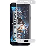 ASCARI NEW Hot Ultra Thin 2.5D 3D 0.2mm Premium Tempered Glass Screen Protector For Samsung Galaxy S7 Edge Silver