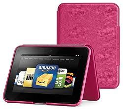 Amazon Kindle Fire HD スタンド型レザーカバー、 マゼンタ (Kindle Fire HD 専用)