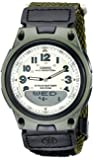 Casio AW-80V-3BVEF Mens Combi Cloth Strap Watch