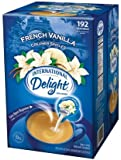 International Delight French Vanilla Liquid Creamer, 192 ct Single-Serve Packages (Quantity of 1)