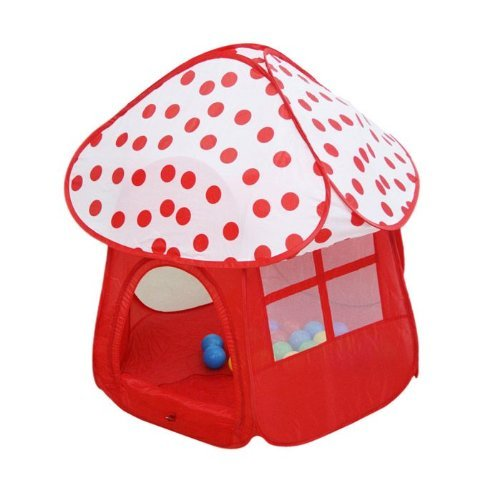 Sunnycat Pretty Baby & Kids Play Tent House – Mushroom-Shape, Gift Idea by AYOZEN bestellen