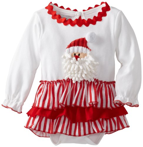Mud Pie Baby Santa All-In-One Dress, Multi, 18-24 Months (Mud Pie Easter 18 Months compare prices)