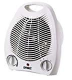 Optimus Portable 2 Speed Fan Heater with Thermostat (H1321)