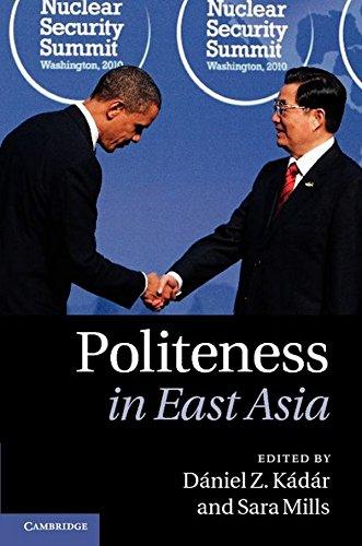 Politeness in East Asia PDF