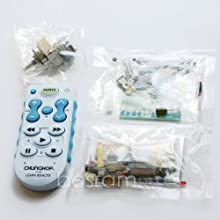 Shanhai Infrared Remote Volume Control Panel Audio Signal Selection Board Remote Kit