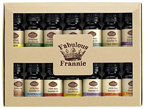 Fabulous Frannie Essential Oil Beginner Starter, 10 ml (Pack of 14)