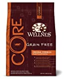 Wellness Grain-Free Dry Dog Food for Adult Dogs, CORE Original, 12-Pound Bag