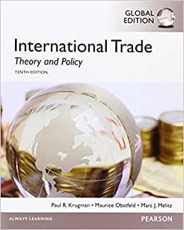 Download ebook International Trade: Theory and Policy: Global Edition