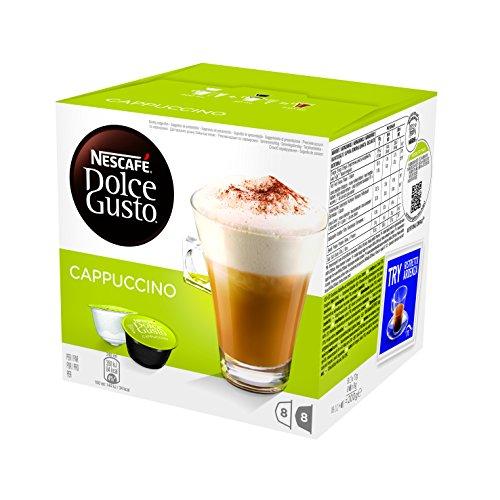 Nescafé Dolce Gusto Cialde Monodose, Cappuccino - 6 confezioni da 16 capsule [96 capsule]