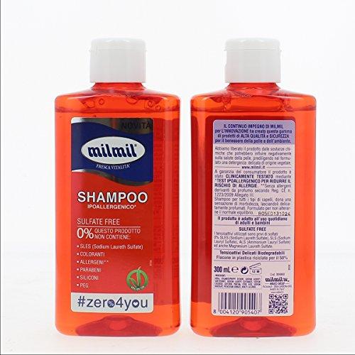 Shampoo 300 ml 0% Ipoallergenico Capelli