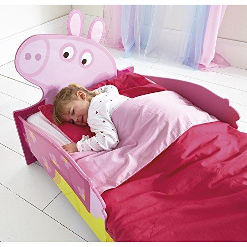 Peppa Pig SnuggleTime Lit enfant + Matelas en mousse