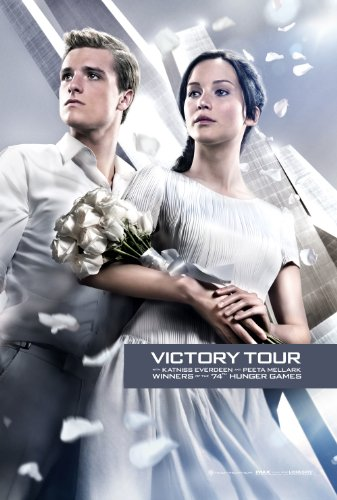 "Hunger Games: Catching Fire (2013) Movie Poster Reprint 13"" x 19"" Borderless SHIPS FLAT! Victory Tour"