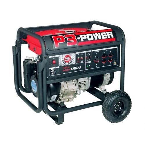 P3 Power GS5600W 10 HP Yamaha 300cc OHC Gas Powered Portable Generator