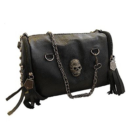 new-2017-european-and-american-style-tote-women-handbags-tassel-skull-rivet-chain-bag-pu-leather-sho