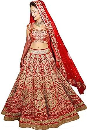 Lehenga choli for women bridal lehenga wedding special for Amazon designer wedding dresses