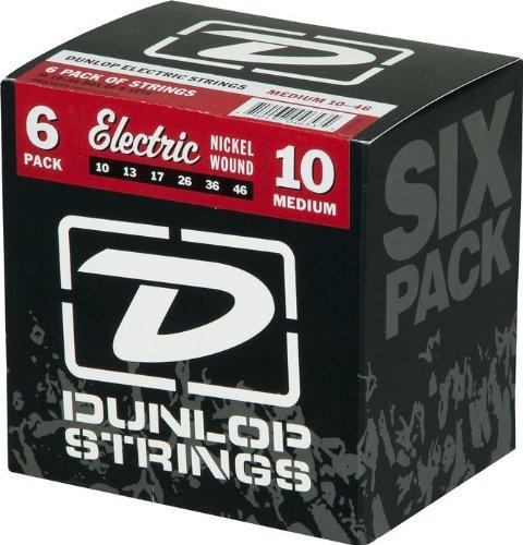 Dunlop Nickel Plated Steel Electric Guitar Strings