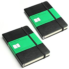Moleskine Small Info Book for Travel Designed for Travelers 2-Pack