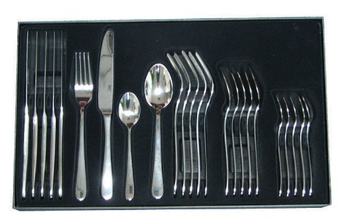 Rockingham Forge Windsor Cutlery Sets 24 Piece Set