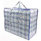H&S Strong Reusable Large Jumbo Shopping Laundry Storage Luggage...
